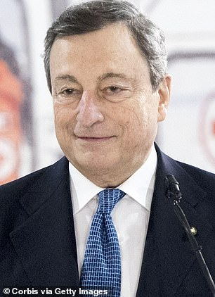 Italian PM Mario Draghi