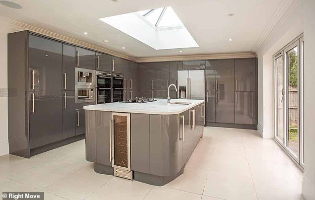 New pad:It was revealed by MailOnline on Monday that Jacqueline and husband Dan Osborne's new property has six bedrooms