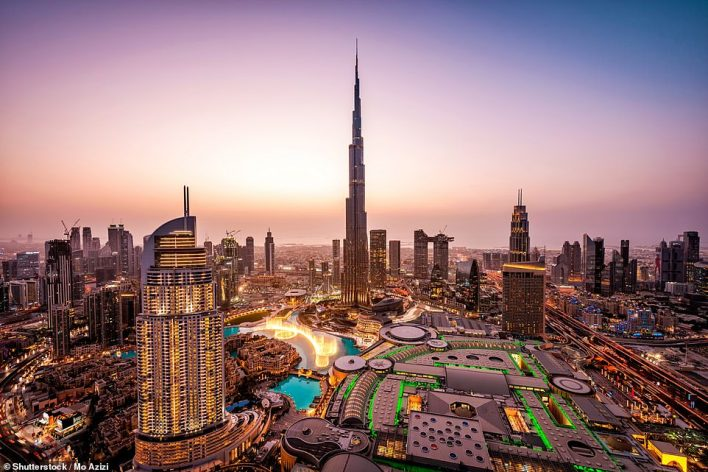 Dubai is the third-fastest-growing international destination for Britons, based on search volumes