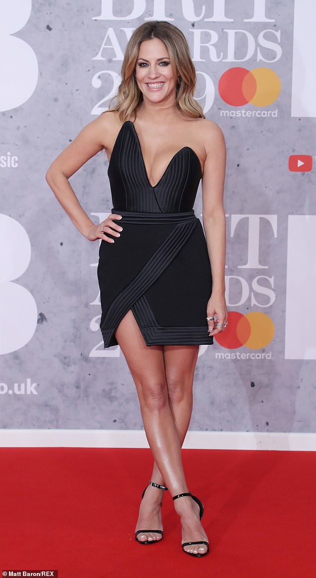 'Those comments did hurt': Olly said the 'abuse' Caroline received on Twitter was 'awful' and the remarks would affect on her (Caroline pictured in 2019)