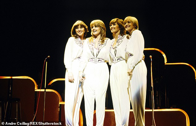 Sisters: Coleen's band The Nolans formed in 1974 and featured Coleen's sisters Maureen, Bernie and Linda [pictured in 1981]