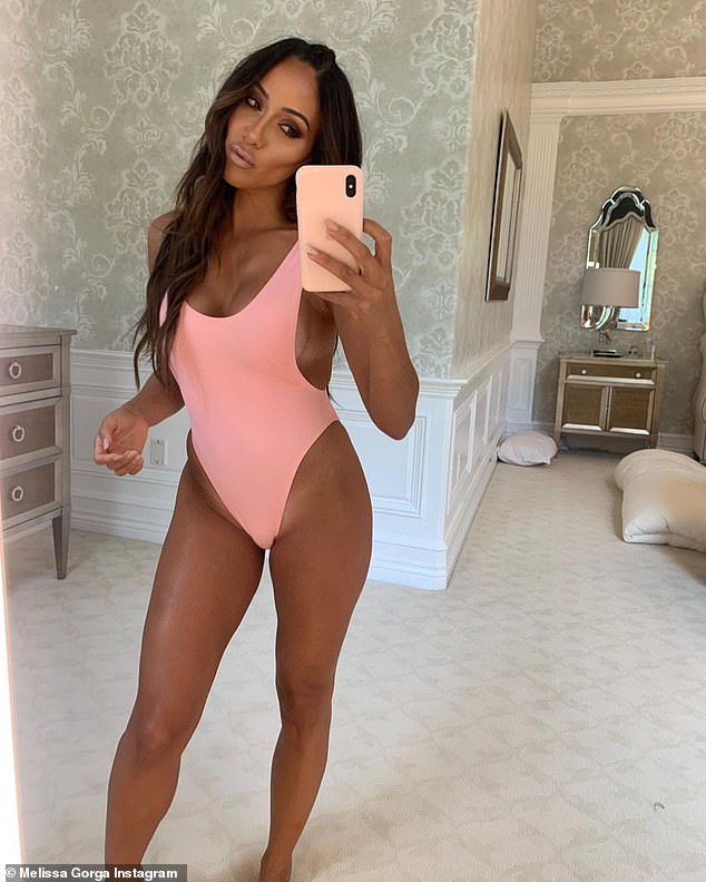 Bold and beautiful: Melissa Gorga stayed true to her famous song as she posed up a storm on Instagram Wednesday evening