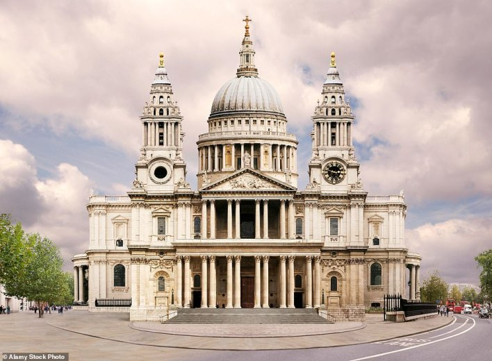 St Paul's Cathedral in London is the most beautiful building in the world - according to the science of the golden ratio