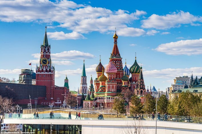 St Basil's Cathedral in Moscow is fifth in the beautiful building ranking, with a golden ratio alignment of 69.10 per cent
