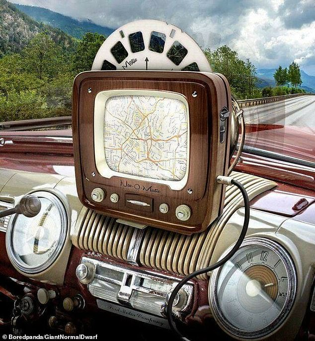 While the person who created this car navigation system in the 1950s will no doubt be surprised with the technological leaps and bounds that have been made in this field