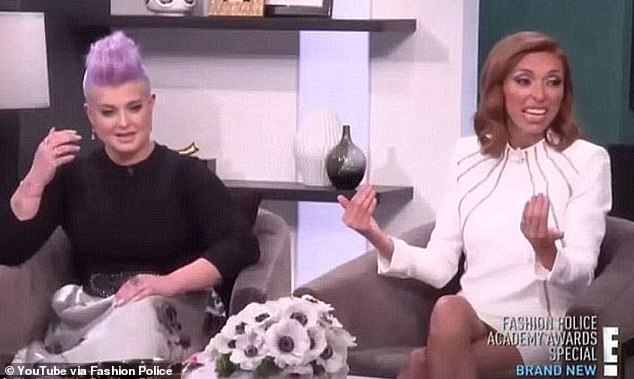 Quit: In the immediate aftermath of Rancic's comments, Fashion Police co-host Kelly Osbourne (pictured left) sensationally quit the E! show