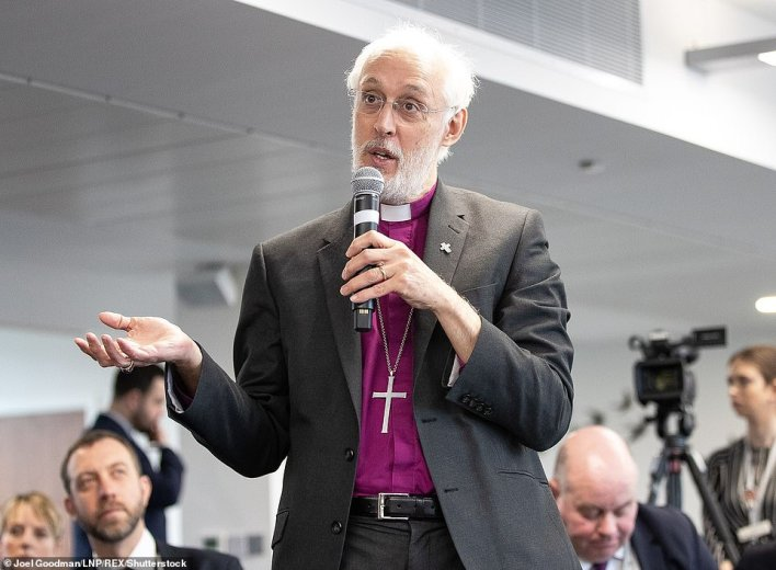 The Bishop of Manchester, David Walker, said weddings could go ahead 'but with only the minimum required in attendance'