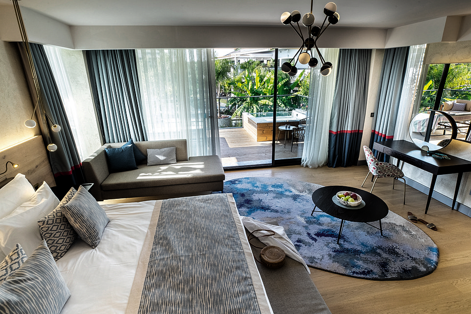 TheLake House suite at The Residenceat Tui Sensatori Barut Fethiye. Victoria says that when staying here, she couldn't have been more spoiled