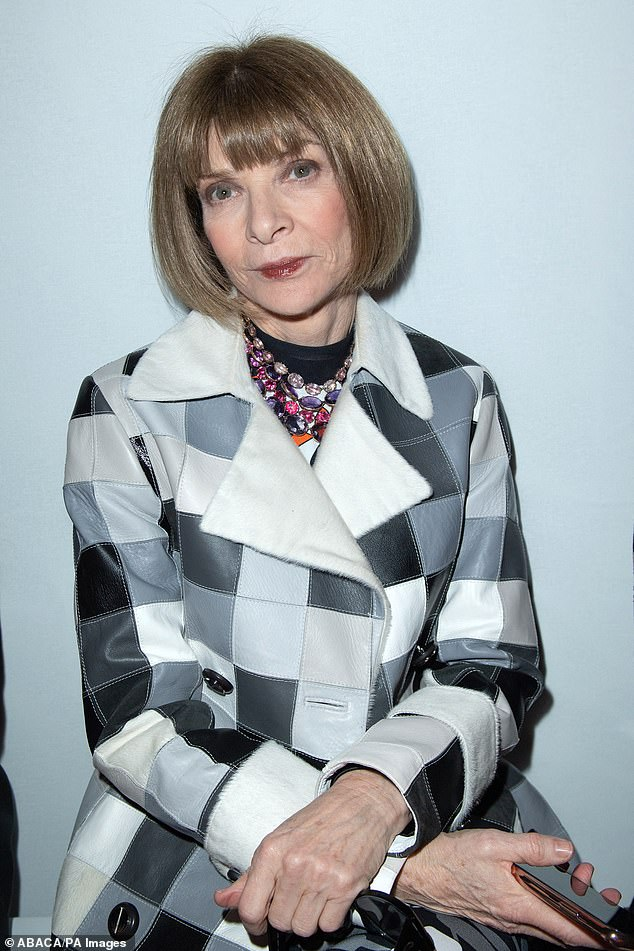 Yesterday, it was claimed that Vogue editor-in-chief Dame Anna Wintour (pictured) had desperately tried to save her protégé Alexi McCammond even as staff led a revolt against her allegedly racist and homophobic tweets she's been pushing for was already excused.