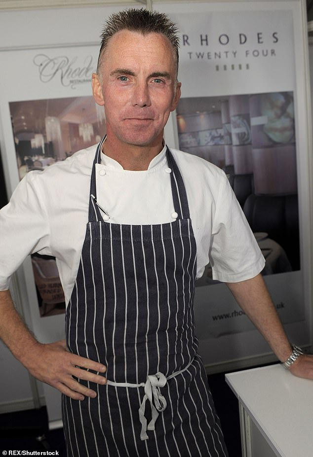 Legend:u00A0Gary was well-known for his appearances in shows including MasterChef and Hell's Kitchen, and also hosted his own culinary series Rhodes Around Britain