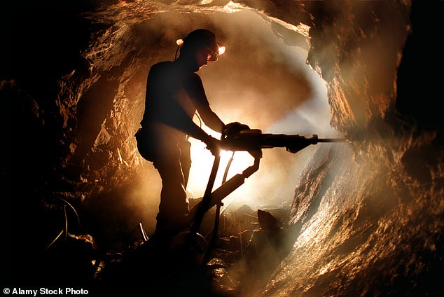 Precious: A miner at the extraordinary Geevor Tin Mine in Cornwall