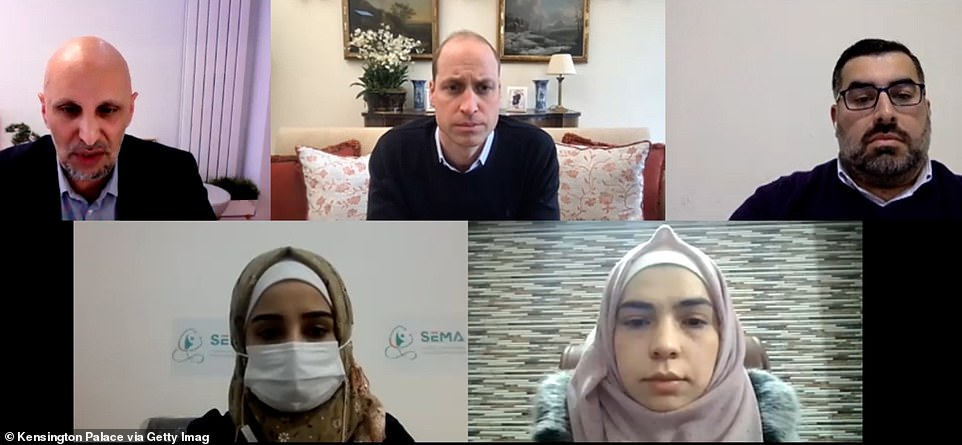 Earlier this weeku00A0Prince William spoke with Syrian aid workers about how donations from Britain are being used to help millions of vulnerable people