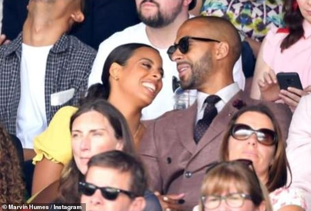 Lovebirds: Marvin gushed that Rochelle makes everything she does special and that she was his 'absolute world'