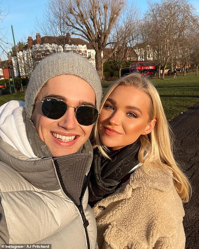 'Your messages keep us going':u00A0AJ Pritchard has broken his silence on his girlfriend's Abbie Quinnen's fire accident, which left her with three-degree burns and needing three skin grafts