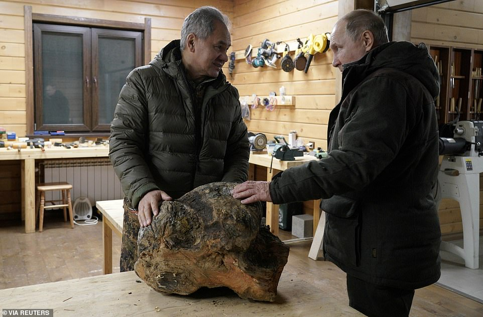 Putin routinely appears on state television participating in various outdoor pursuits to project the image of a healthy and robust leader capable of leading the country for many years to come