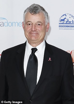 Billionaire cosmetics heir William Lauder (pictured) is ramping up his bitter legal battle with his former partner Taylor Stein after their 13-year-old daughter referred to the family's dirty laundry in a social media post, a new report claims
