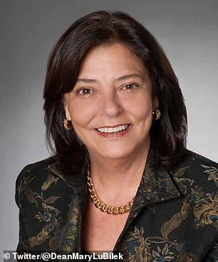 CUNY Law School Dean Mary Lu Bilek is retiring as atonement for referring to herself as a 'slaveholder' during a personnel meeting in November