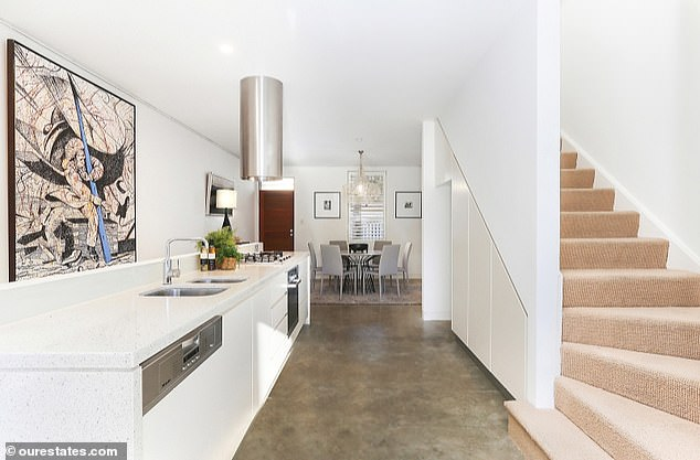 Jarryd Hayne's property portfolio was once worth more than $5 million including terraces and cottages in trendy Sydney suburbs, including this one in Darlinghurst