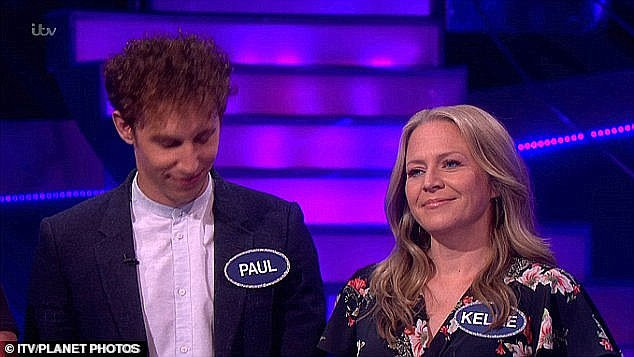 Great news: The family is set to welcome their new addition in August (Paul and Kellie are pictured together)