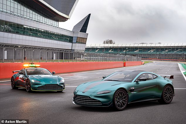 Aston Martin's Formula One safety car for the road: Say hello to the Vantage F1 Edition