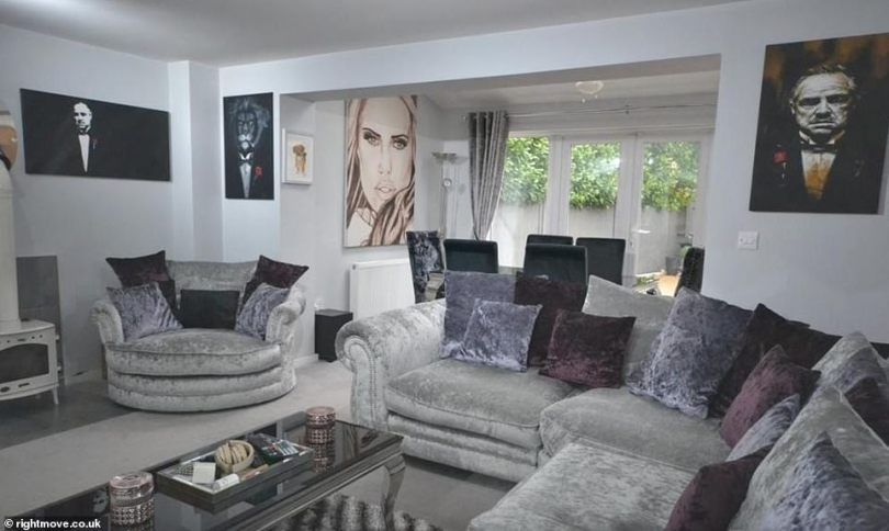 New chapter: Katie Price's boyfriend Carl Woods has put his Essex home on the market for £445,000 – amid speculation the couple are expecting their first baby together