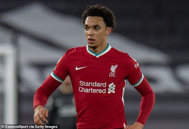 Liverpool right-back Trent Alexander-Arnold is in the next bracket at over £ 77million