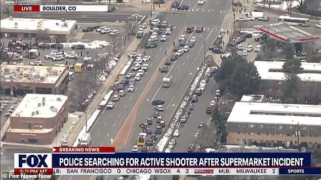 Local reports say there are 'multiple people down'. There are also reports of there being 'multiple shooters inside' the store