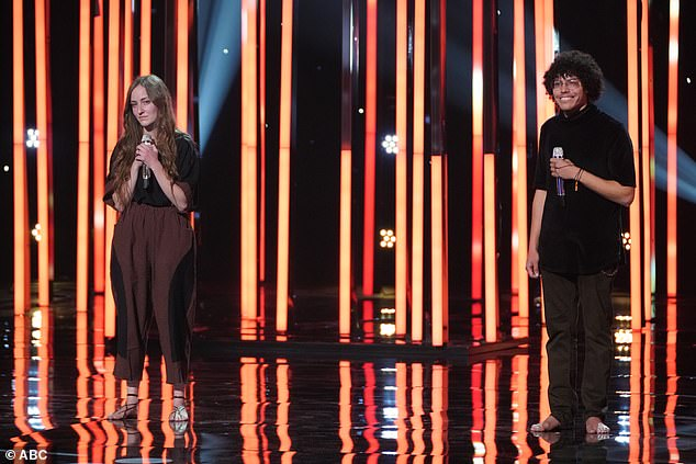 Barefoot singers:Murphy and Lizzy O'Very, 20, walked onstage barefoot and wowed the judges with Fleetwood Mac's Dreams, scoring a standing ovation