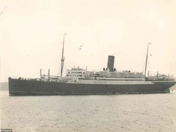 Cunard, with its slogan 'Getting there is half the fun', launched a second world cruise in 1923 with RMS Samaria (pictured)