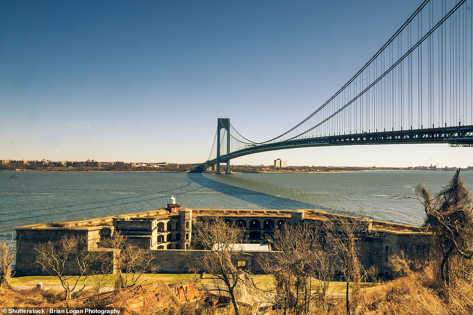 In fourth place is the Gateway National Recreation Area in New York City and New Jersey, which saw 8.4million visitors