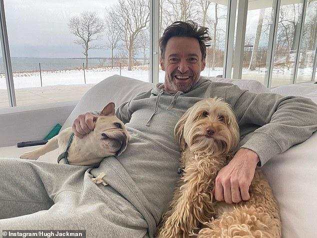 Aww! It comes after the star expressed his love for his beloved pets, dogs Dali and Allegra, on National Puppy Day
