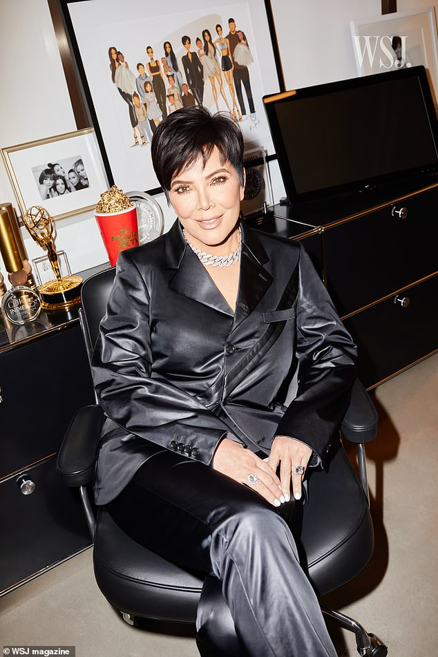 Boss: Kris Jenner talked to WSJ. Magazine about her evolution from housewife to business mogul