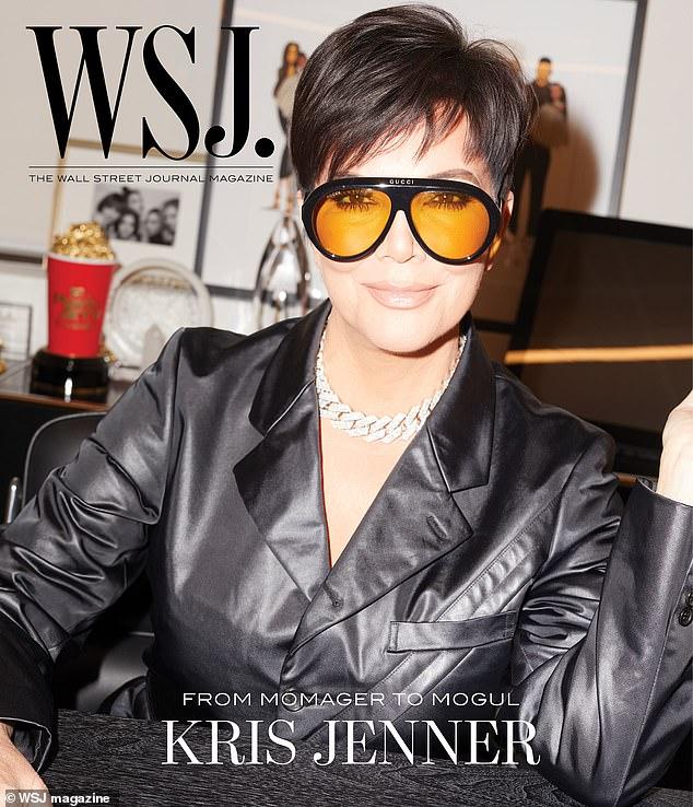 Momager to mogul: Kris Jenner is WSJ. Magazine's digital cover star