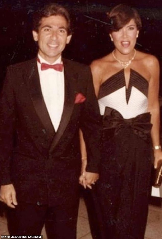 Jenner says she used to be clueless about how to manage her finances because her first husband, Robert Kardashian, would control the money and take care of bills. Kardashian, seen here, passed away in 2003