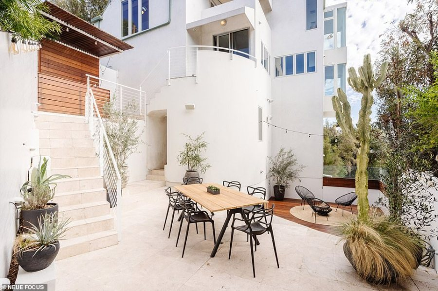 Outdoors, the property features a courtyard and what's described as a meditation space