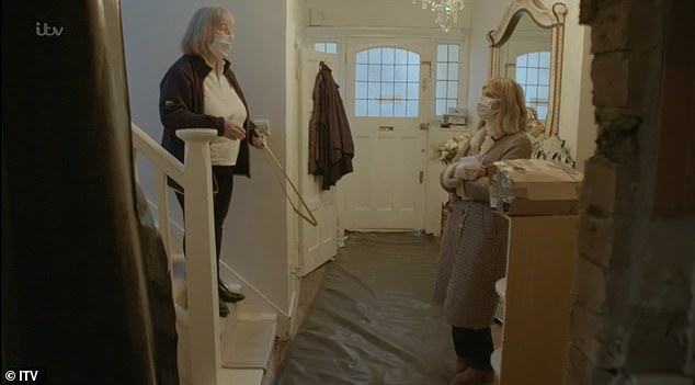 Preparations:In November, Kate met with an occupational therapist as they discussed the layout of their home and prepared it for Derek's return