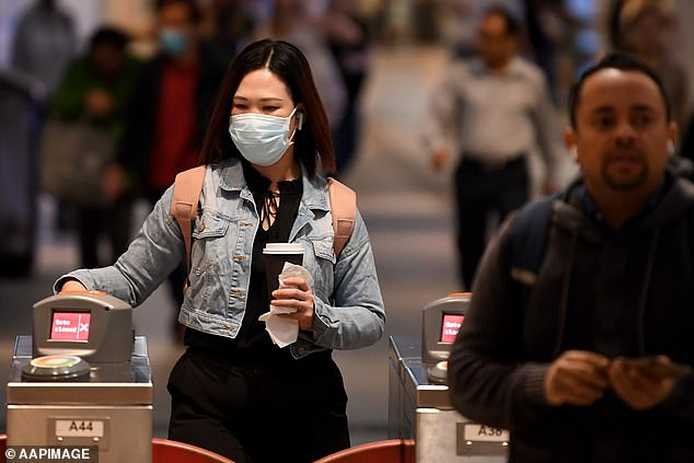 Face masks on public transport will move from 'mandatory' to 'strongly recommended' from next week