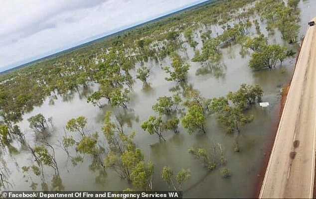 Authorities said there was more rain expected in the the next month for the Kimberley region