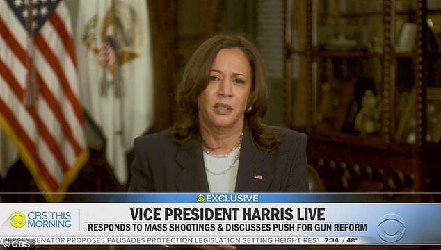 Vice President Kamala Harris said both she and President Joe Biden will visit the border 'at some point'
