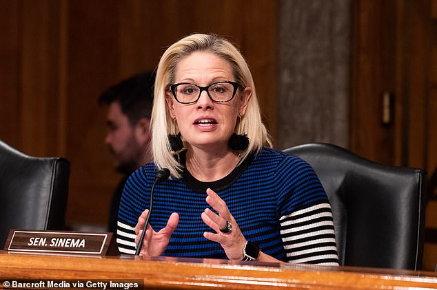Sen. Kyrsten Sinema (D-Ariz.), is floating a $11 wage that gets indexed to inflation and rises over time