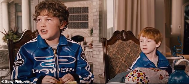 Bleep!Houston was a standout in Talladega Nights: The Ballad Of Ricky Bobby as the foul-mouthed 10-year-old Walker Bobby, Will Ferrell's character's son