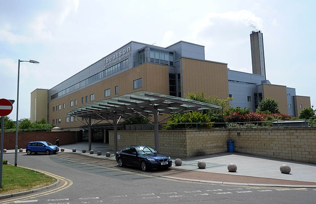 The Beatson, the West of Scotland Cancer centre in the west end of Glasgow. Where Ms McIlroy works