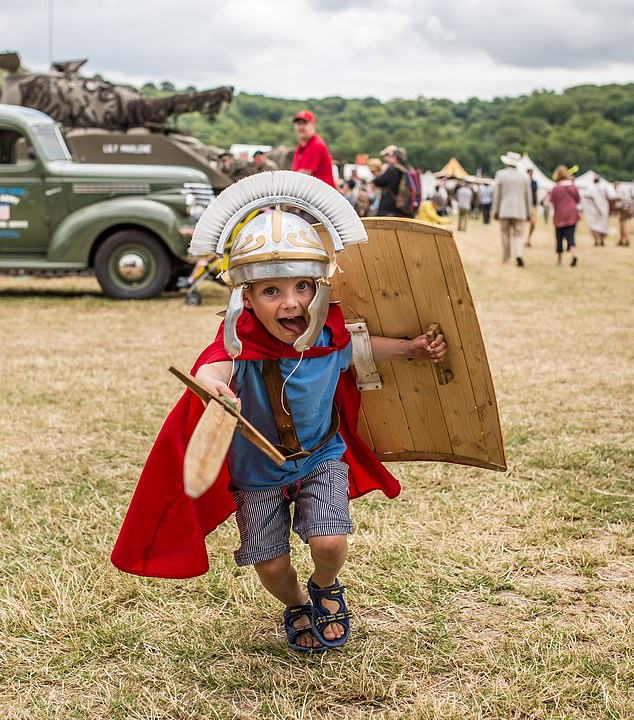 Always held at the end of June, this spectacular event has a well-earned reputation as Britain's top summer celebration of great history for all the family