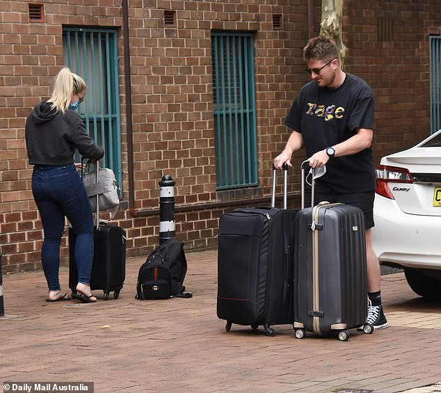 Ready to go? The pair were spotted checking into the same hotel together in Sydney on February 8, just days before filming the highly-anticipated reunion