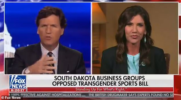 Kristi Noem appeared on Fox News on Monday night to explain her objections to the bill