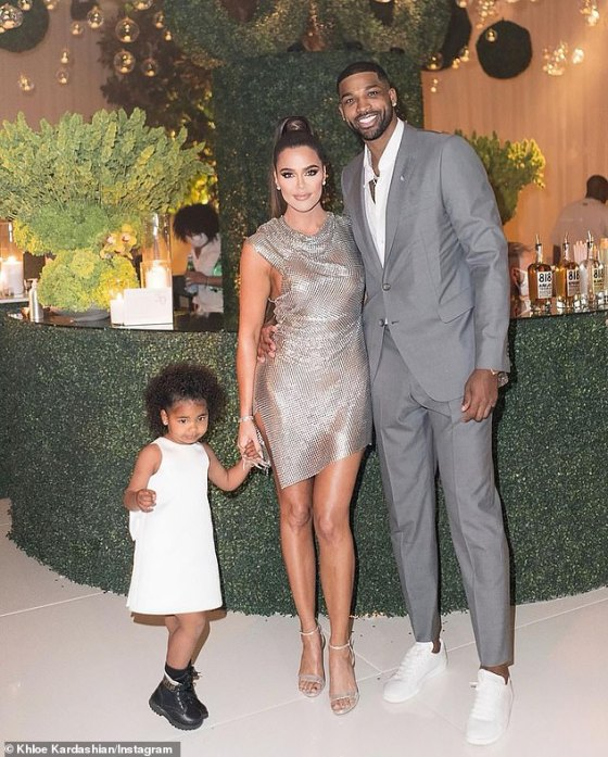 'The truth will be so excited!'  By the way, during the virtual chat, Kris said she was 'really happy' because of Khloe and her boyfriend Tristan Thompson who produce more frozen embryos