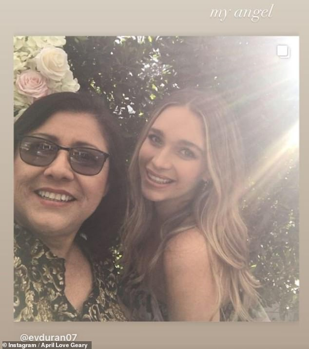Tragic: She confirmed the news in a heartfelt tribute shared to Instagram as she reflected on how her late parent was 'full of life, love and so much laughter'