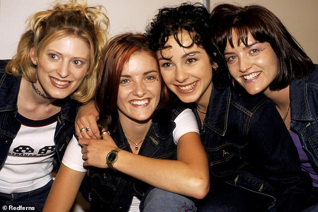 Sinead revealed that the inspiration for their podcast came from wanting to give a nod to how they reacted when their recording contract was withdrawn.  Pictured: B * Witched