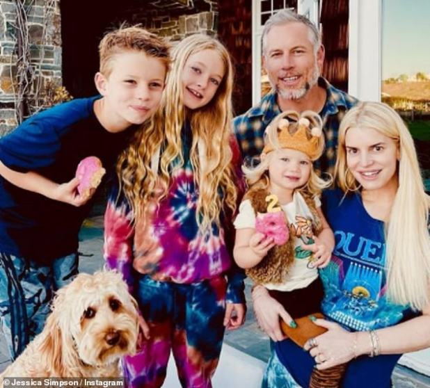 Supportive Husband: The star has not had a drink since she quit drinking more than three years ago and revealed she couldn't do so without having her husband Eric Johnson, 41, by her side: 'Eric and I, both of us, we look at each other , like, we couldn't have drunk with this'