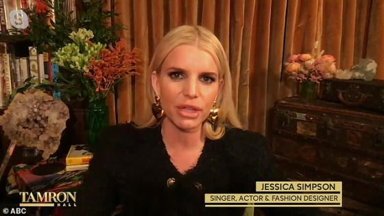 Sobriety Update: Jessica Simpson quit alcohol in November 2017, explaining that she 'hadn't thought about alcohol' during the ongoing coronavirus pandemic during an outside appearance on The Tamron Hall Show